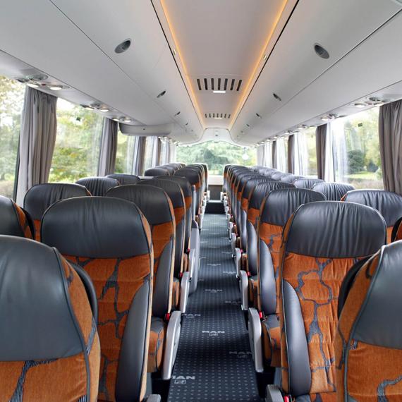 Avance 1020 intercity transport bus seats products for Interior design kiel